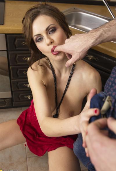 Анал с женой на кухне 9 фото