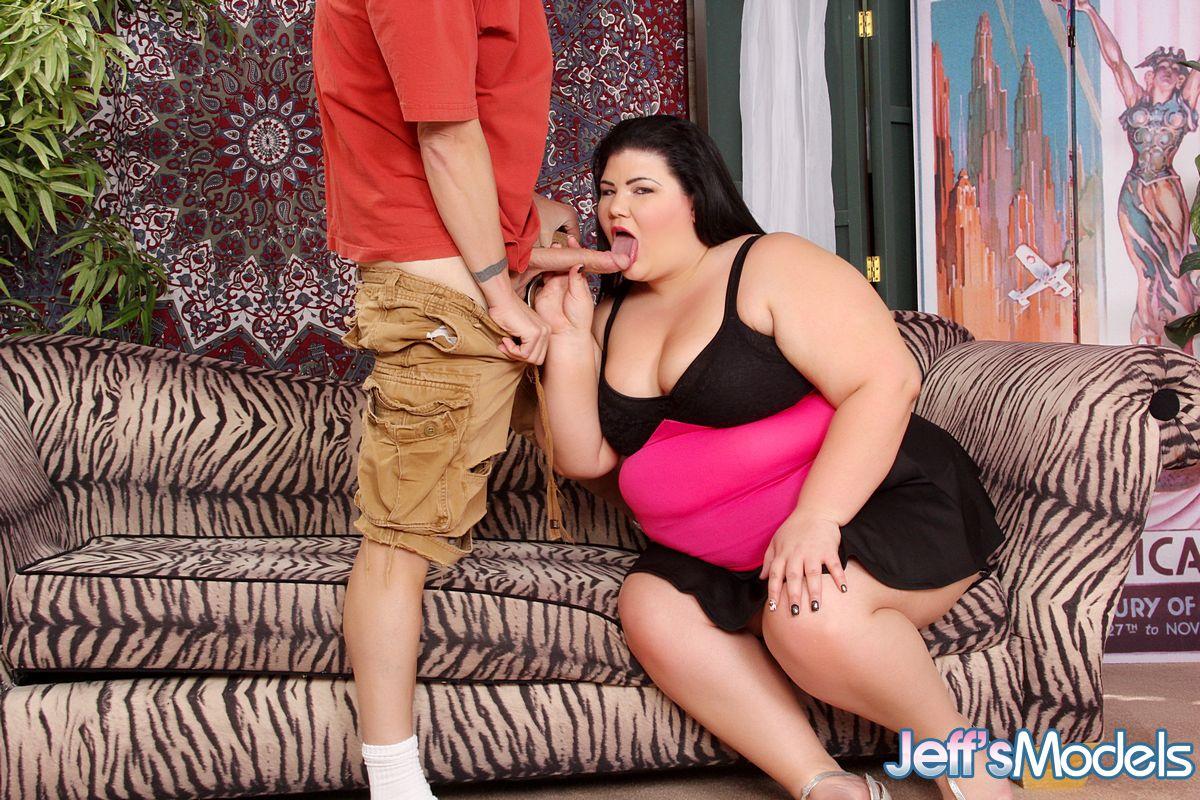 Трахает очень толстую бабу видео порно 9